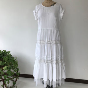 Vintage Cotton Boho Dress